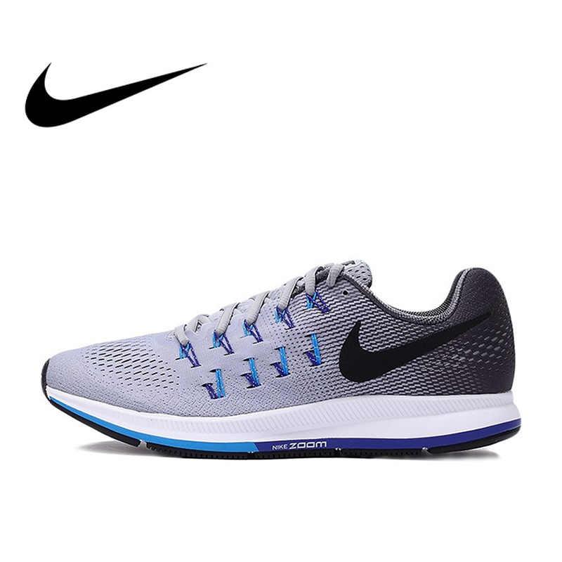 8aca067b77222 Official Original NIKE AIR ZOOM PEGASUS 33 Men s Running Shoes Sneakers  Breathable Classic Sport Outdoor Walking