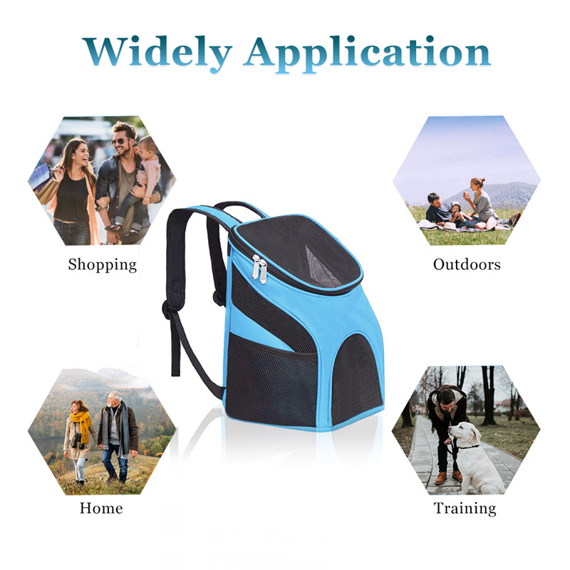 Zipper Dog Backpack Carrier 16