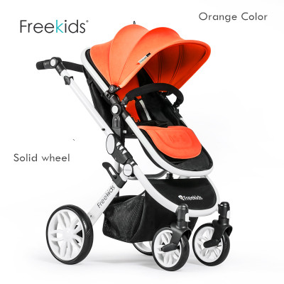 2016 Top Fashion Real Highchair High Quality Original Two Way Push Ultra Light Freekids Baby Stroller 4 Colors 5 Free Gifts Car