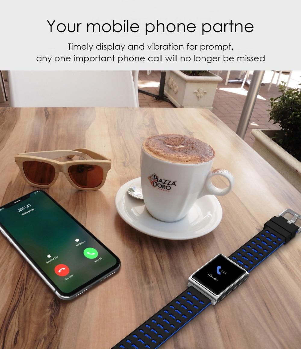Smart Watch Bracelet N98 Color Full Screen Waterproof Fitness Tracker Clock Wristband Heart Rate Monitor Pressure For Xiaomi IOS 12