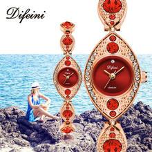 цена Luxury Women Bracelet Watches Jewelry Diamond Ladies Casual Clock Steel Waterproof Female Wristwatch relogio feminino Girls Gift онлайн в 2017 году