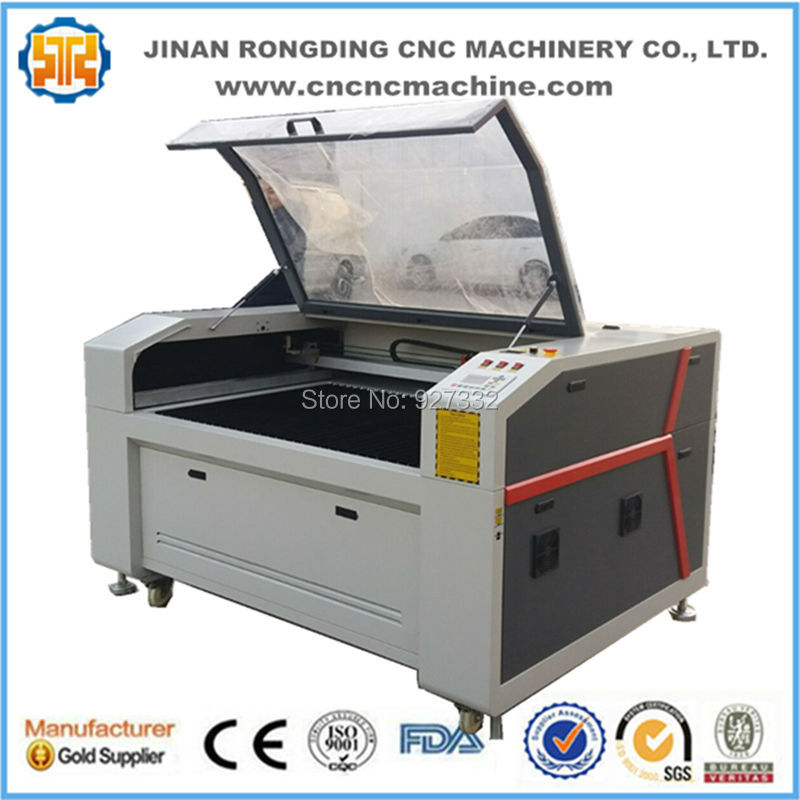 Jinan Factory Price 150w 180w 260w Co2 Metal Laser Cutting Machines For Stainless Steel