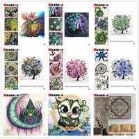 Kexinzu Special Shaped Diamond Painting Handicraft Needlework Cross Stitch 3d Drill Mosaic DIY Diamond Embroidery Animal