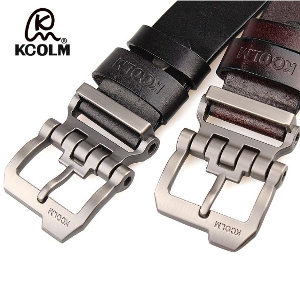 Image 4 - cowskin leather designer Quality with silver buckle Jeans belt tmallfs men heavy duty luxury strap big size XXL long 140 150male strapbelt brandbelt designer -