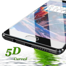 Phone Screen Protector for Oneplus 3T 5T 6T 7 Pro 5D HD Premium Protective Glass Film Protective Glass Film for Oneplus 3 5 6 7