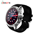 X200 android smart watch mtk6580 quad core rom 8 gb + ram 512 MB pulsómetro Con Ayuda de La Cámara 3G Wifi GPS smartwatch