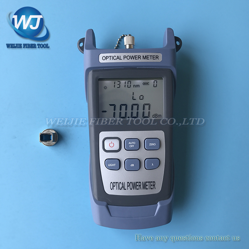 KING-60S Fiber optical power meter OPM -70 ~ + 10dbm
