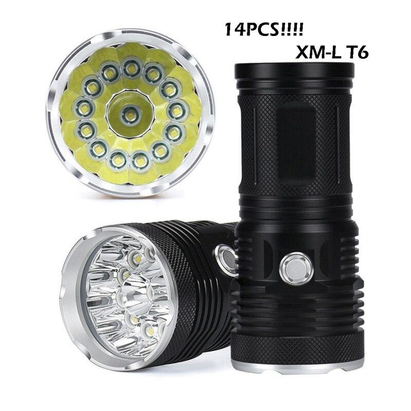 38000LM 14x XML T6 LED Flashlight Torch 18650 Hunting Light Lamp lot BRIGHT Flashlights Hunting Light torch настенный светильник favourite wendel арт 1602 1w