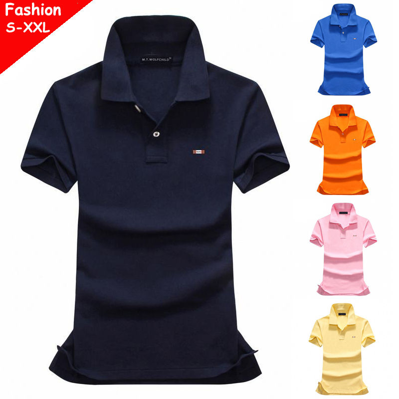 100% Cotton 2019 Summer Women's short sleeve polos shirts casual brand womens solid color lapel tees fashion slim ladies tops