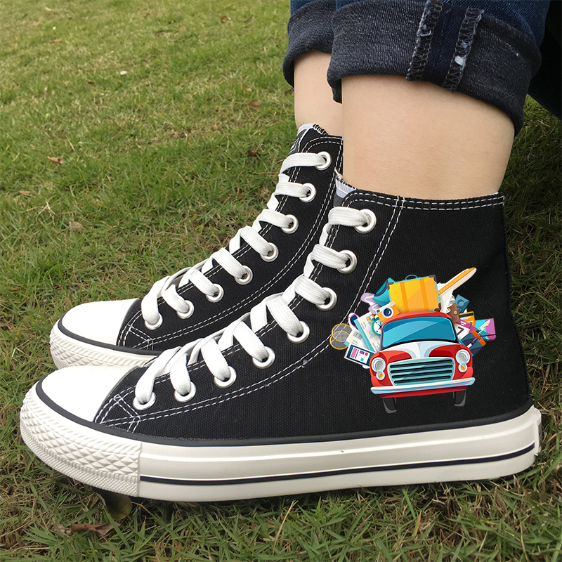 High Quality high canvas sneakers