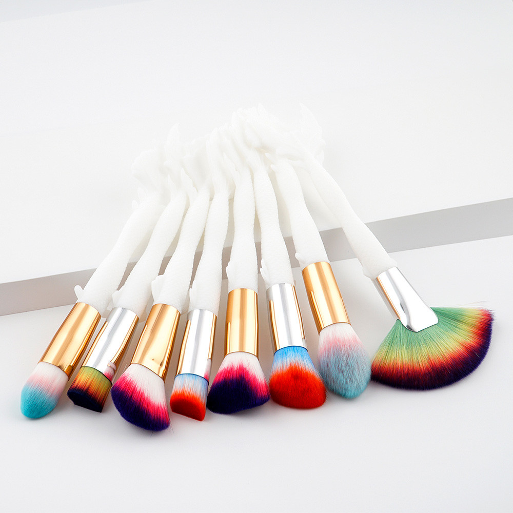 Best Deal New Good Quality 8PCS Cosmetic Makeup Brush Lip Foundation Loose Powder Brush Eyeshadow Brush j deal 16