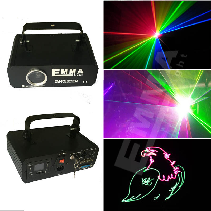1.2 Watts Rgb Laser/ Beam Laser For Event Show / 3d Laser Projector