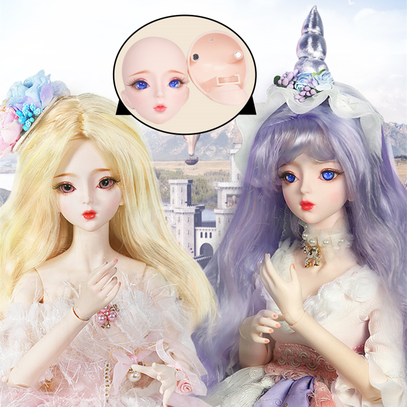 1/3 BJD Doll Customized Doll Mechanical Joint Body Handmade Makeup Dream Fairy 62cm AI YoSD MSD SD Kit Toy Gift DC Lati