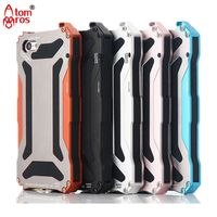Luxury Gundam Waterproof Shockproof Metal Aluminum Armor Hard Case For IPhone 5C Cover Mobile Phone Cases