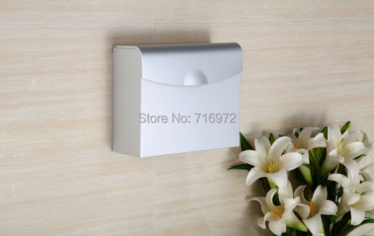 Free shipping wall mounted big size toilet paper holder for Toilet accessories sale