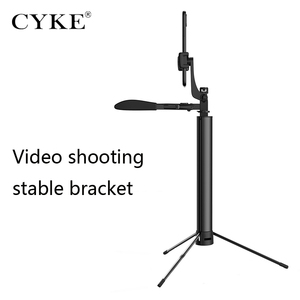 Image 4 - CYKE A21 אלחוטי Bluetooth selfie מקל Bluetooth שלט רחוק למלא אור נייד חצובה מתכוונן כף יד יציבות