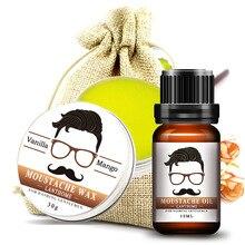 дешево!  Мужское питательное масло для бороды Восковые средства для ухода за бородой Крем для бритья Пенное