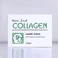 Venta al por mayor envío directo 6 piezas JYP Nueva Zelanda crema de colágeno Lanolin VE Aloe Vera crema hidratante nutrir antiarrugas