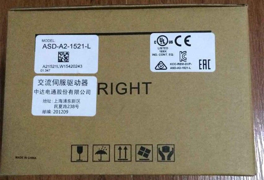 ECMA-E11315RS + ASD-A2-1521-L DELTA AC servo controlador de motor kits de 1.5kw 2000rpm 7.16Nm de marco de 130mm