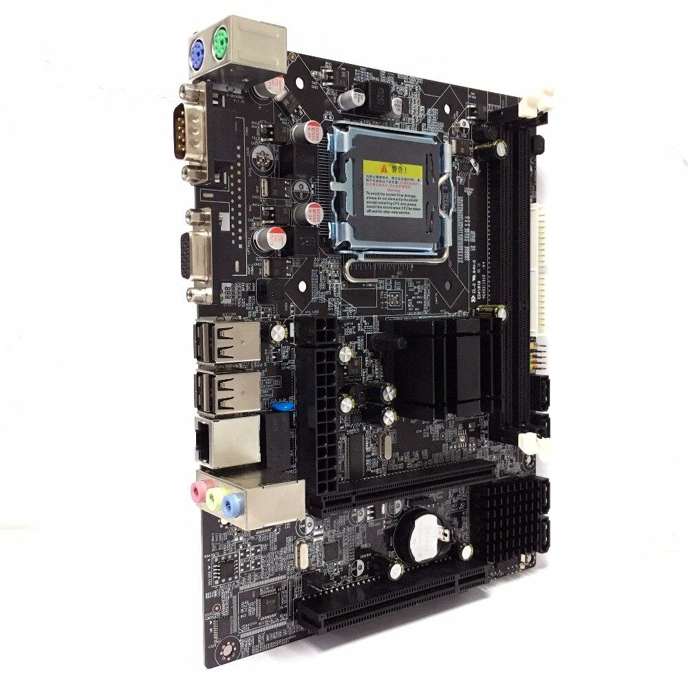 Chipset Intel G41 PC LGA775 ordinateur de bureau carte mère DDR3 Double USB 2.0 LGA 775 carte mère