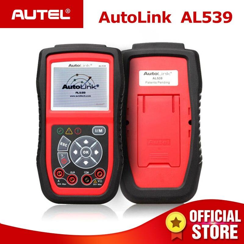 Autel Autolink Al539 Obd2 Kan Elektrische Test Tool Auto Diagnose Scanner Obdii Obd 2 Code Reader Een Klik I/m Gratis Update