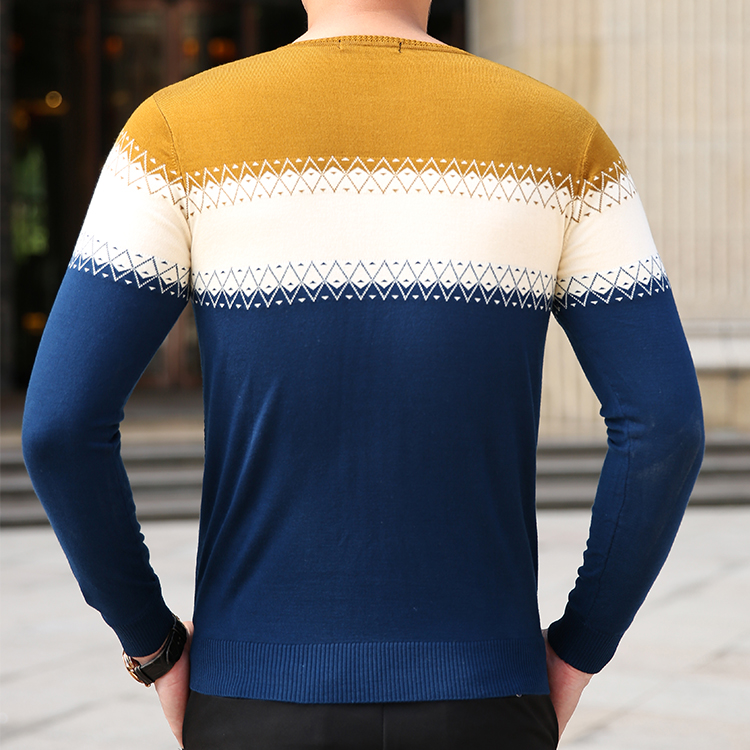 Batmo 2018 new arrival autumn&winter high quality casual sweater men,men's casual sweaters plus-size M-8XL 8801