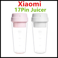 Xiaomi 17PIN Brand Star Firut Cup Portable Small Juicer Juice Extracter 400ML Fruit Cup Magnetic Charging Hiden Blades Smart