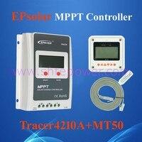 2015 Hot Selling Mppt Solar Charge Controller 12v 24v 40amp With MT 50 Meter