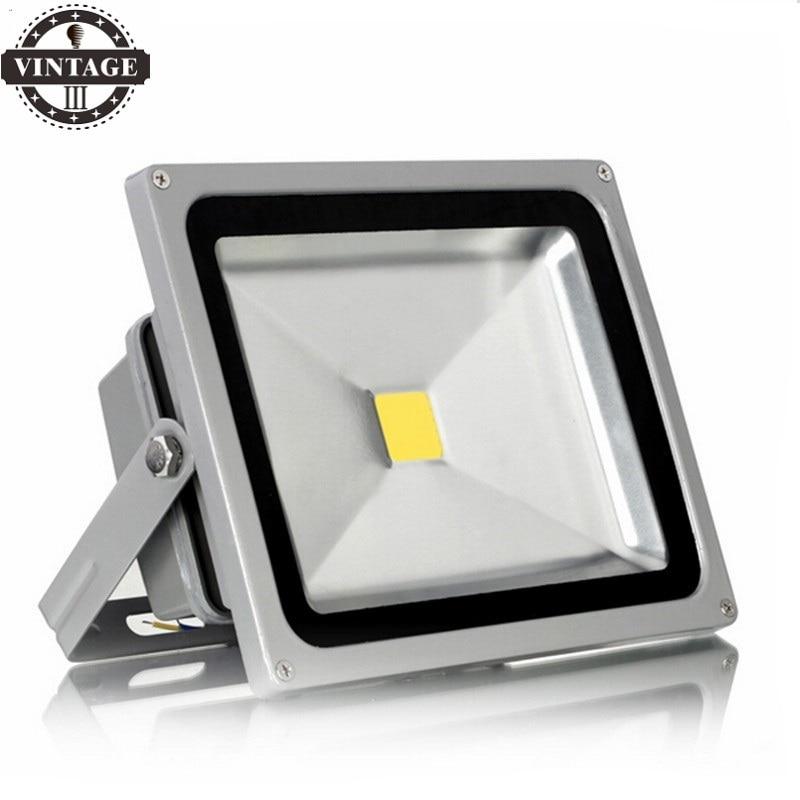 Led Reflector Spotlight Ac165-220v 10w 20w 30w 50w Projecteur Ultrathin Led Exterieur Capteur Waterproof Ip65 Outdoor Wall Lamp