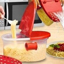 Microondas Pasta Boat Sweettreats Tazón Cocina Cocinar Espagueti Caja de Herramienta de Cocina Gadget de Verduras