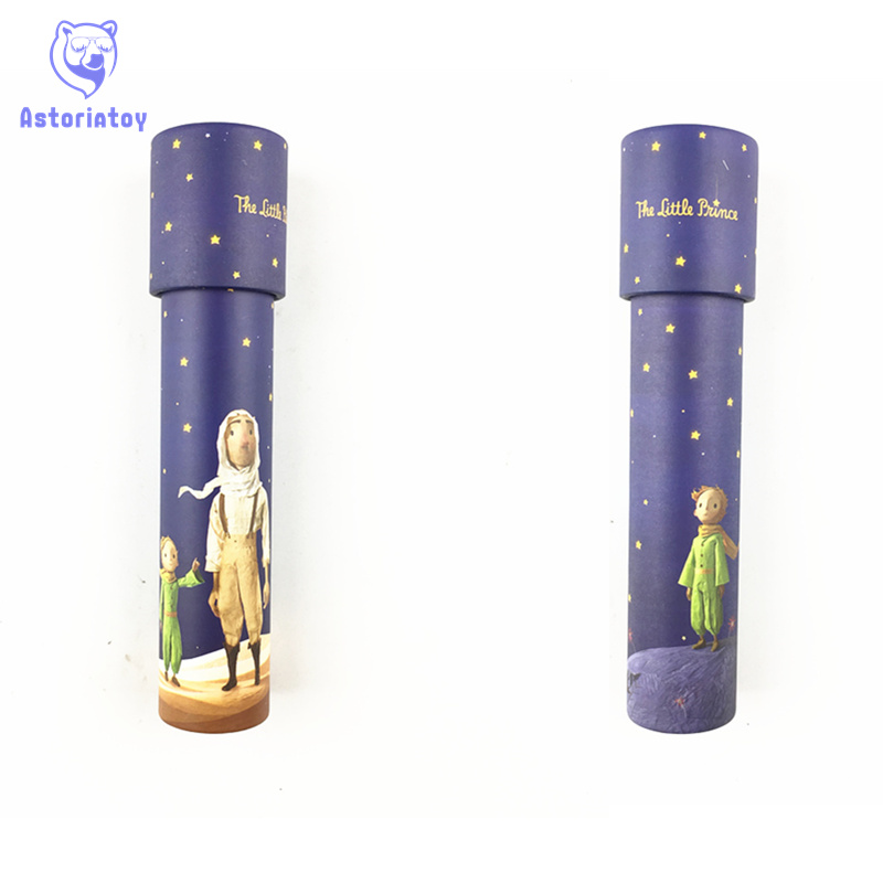 20cm the little Prince Rotating Kaleidoscopes Rotation Adjustable Fancy Colored World Baby