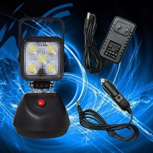 1PCS 15W Portable Work Light Rechargeable Battery Magnetic For Maintenance Camping Outdoor Use Light