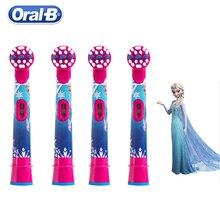 Oral B EB10 Trẻ Em Điện Đầu Bàn Chải Đánh Răng Dispalying Thêm Mềm Bristle Care Gum Làm Sạch Sâu (Brush Heads Chỉ)