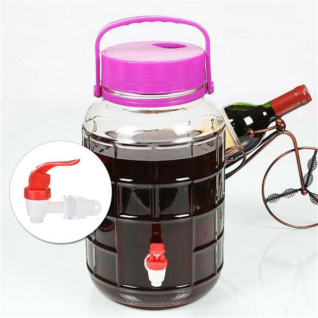 Push-Type Plastic Faucet Tap Spigot for Beverage Water Dispenser Wine Barrel 10
