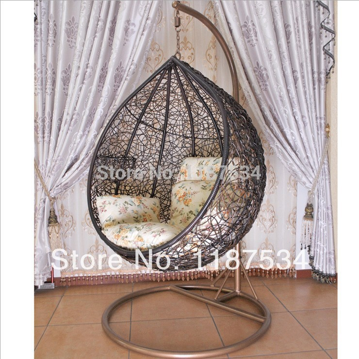 Swing Chair Lagos Office Rubber Wheels Rocking Rattan Hanging Ball Modern Hammocks Patio Swings Swinging Stage Basket In Living Room Chairs From Furniture On