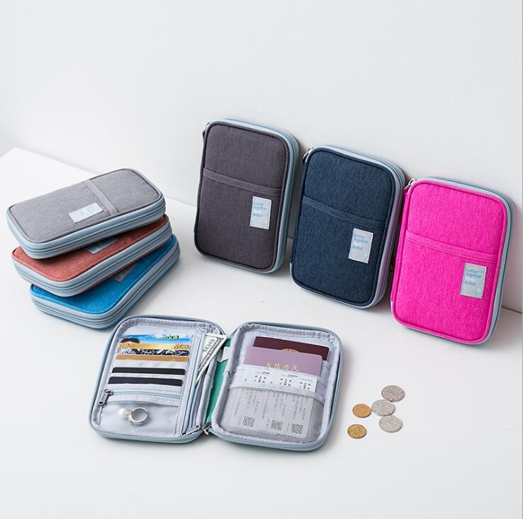 Winner Large Capacity Men Travel Zipper Women Wallet Passport Case Cover Purse Organizer Bag Card Holder W-A13-70