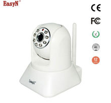 EasyN 187W 1.3 MP H.264 CMOS ONVIF Wireless IP Camera with Pan / Tilt Night Vision Mobile Security System Support TF Card