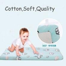 Хлопок простыня детская кроватка/корзина/наматрасник популярные детские постельные принадлежности