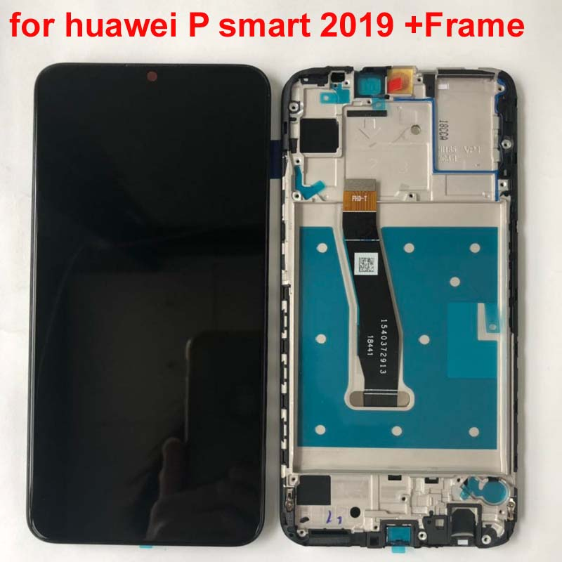 """Image 3 - Original New For 6.21"""" Huawei P Smart 2019 LCD Display Screen+Touch Panel Digitizer For POT LX1/POT LX1AF/POT LX2J With Frame-in Mobile Phone LCD Screens from Cellphones & Telecommunications"""