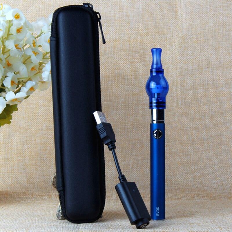 Evod Wax Pen Starter Kit E Cigarettes eVod Battery Replaceable Coil Glass Globe Dab Atomizer Herbal Vape Vaporizer Pen Kit