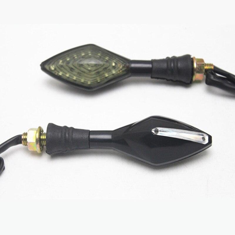 1 пара мотоциклетные дым линзы светодиодный поворотник Индикатор желтый свет для Honda Suzuki Kawasaki <font><b>Yamaha</b></font> R1 <font><b>R3</b></font> R6 FZ1 FZ6 FZ8 XJ6