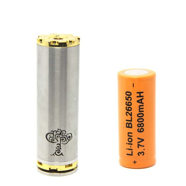 Hot E Cigarette Mode Tree Of Life Mechanical Mod With Bl 26650 Battery Electronic Cigarette Tubes Mod Battery Body