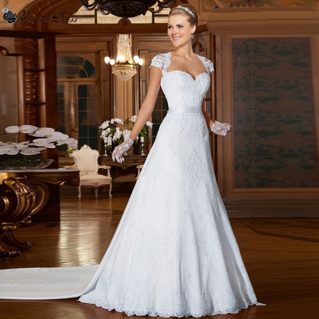 Vestidos de novia desmontables baratos