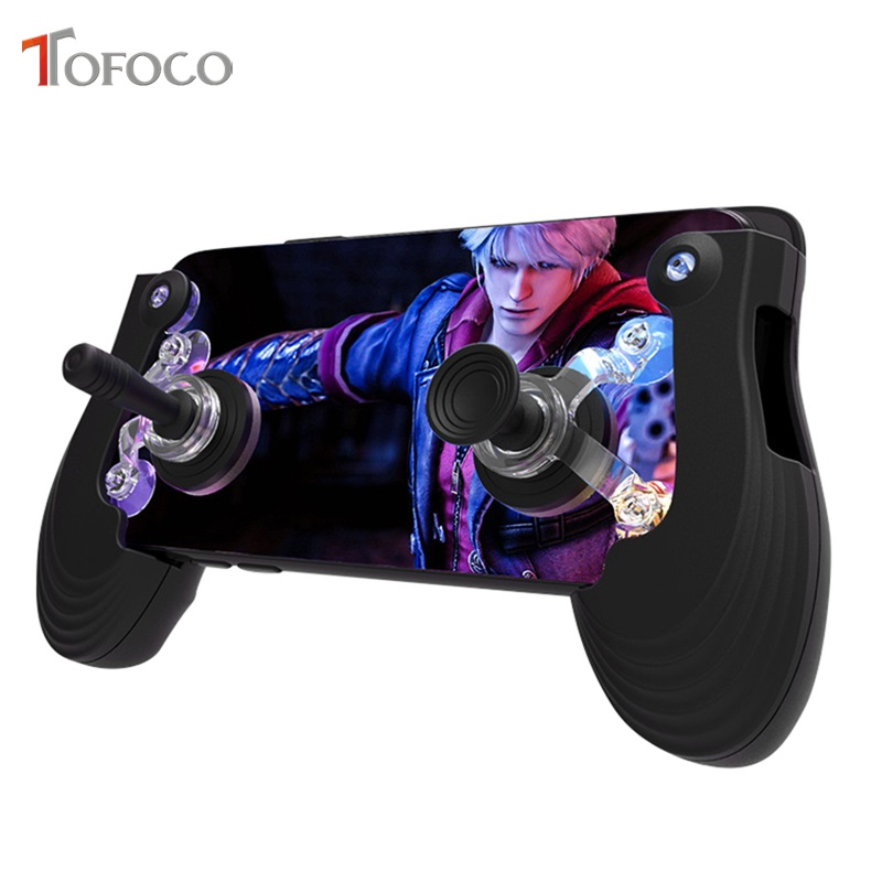 Mini Size Touch Screen Mobile Gamepad + Gamepad joystick + Suction cup for IOS Android Mobile Gamepad Pad Games Controller