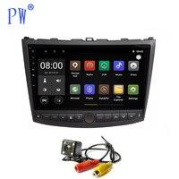 Android 7,1 автомобилей Радио DVD плеер с JPS и навигацией для Lexus IS250 IS200 IS220 IS300 головное устройство gps для автомобиля, стерео Мультимедиа Видео в тир