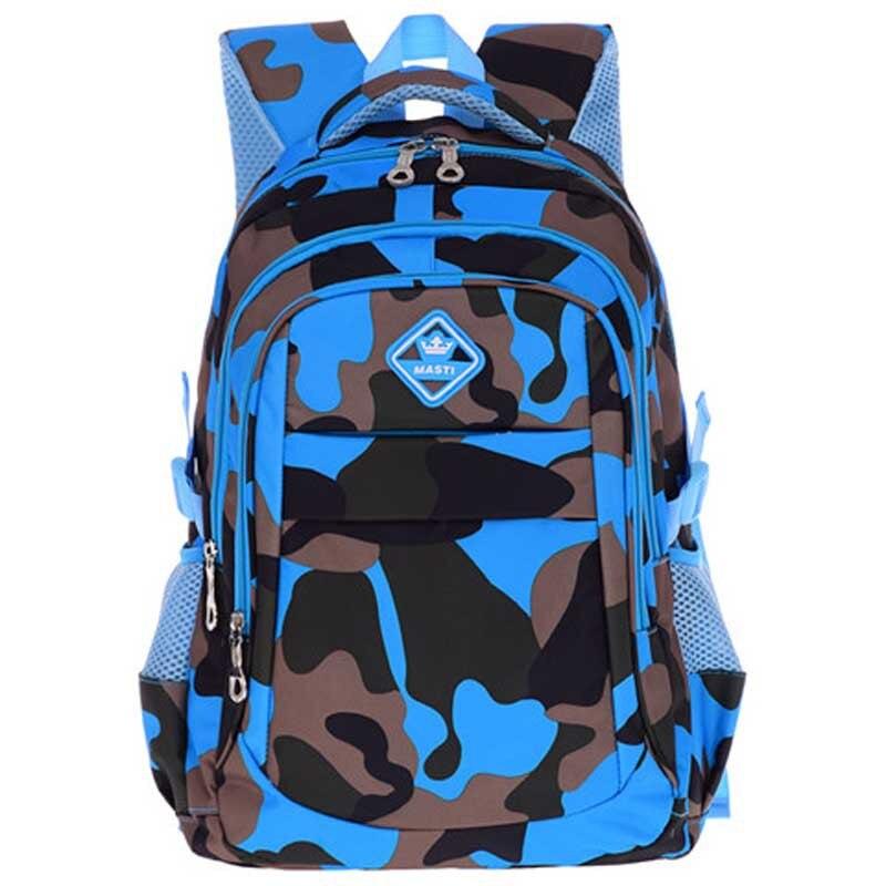 Kids Camouflage School Bags Boys Waterproof Children Backpacks Primary School Backpacks Schoolbags Kids Satchel Mochila Infantil