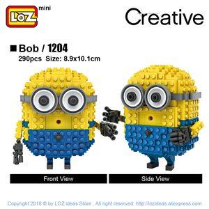 Image 3 - LOZ Mini Blokken Anime Stripfiguur Baksteen Educatief Speelgoed voor Kinderen Duivel Bouwstenen Speelgoed voor Kinderen Educatief