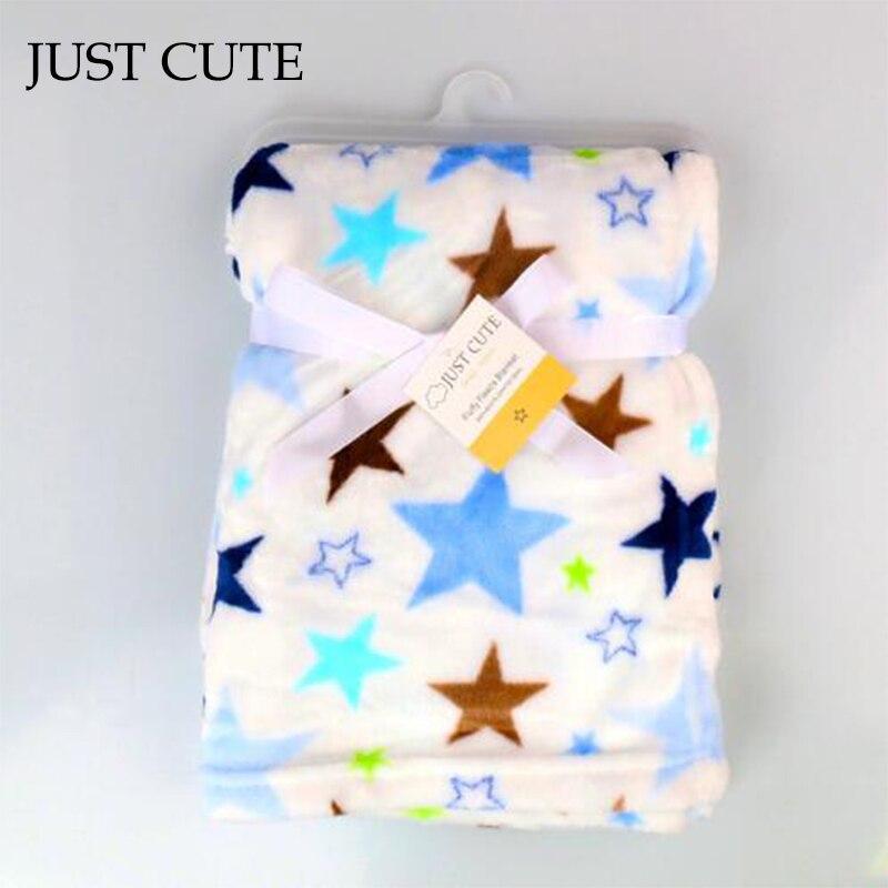 just cute 2016 new baby blanket children warm fleece. Black Bedroom Furniture Sets. Home Design Ideas