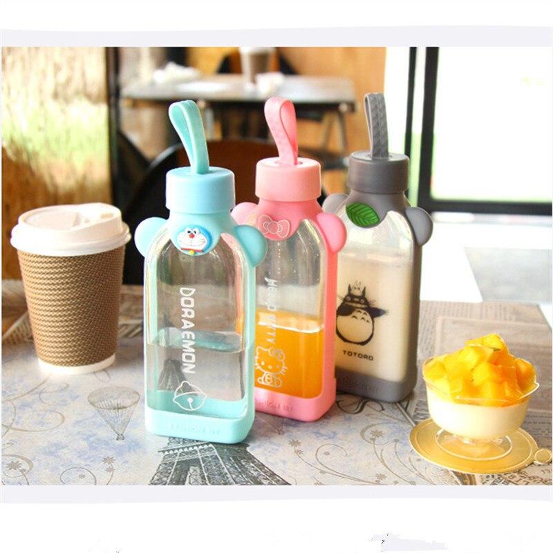 BAP ENVÍO de la Nueva 350 ml cubierta de la botella de agua de cristal Al Aire L