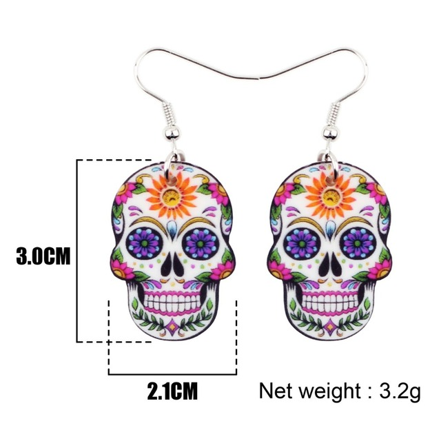 Gorgeous Halloween Earrings 3 x 2.01 cm 4